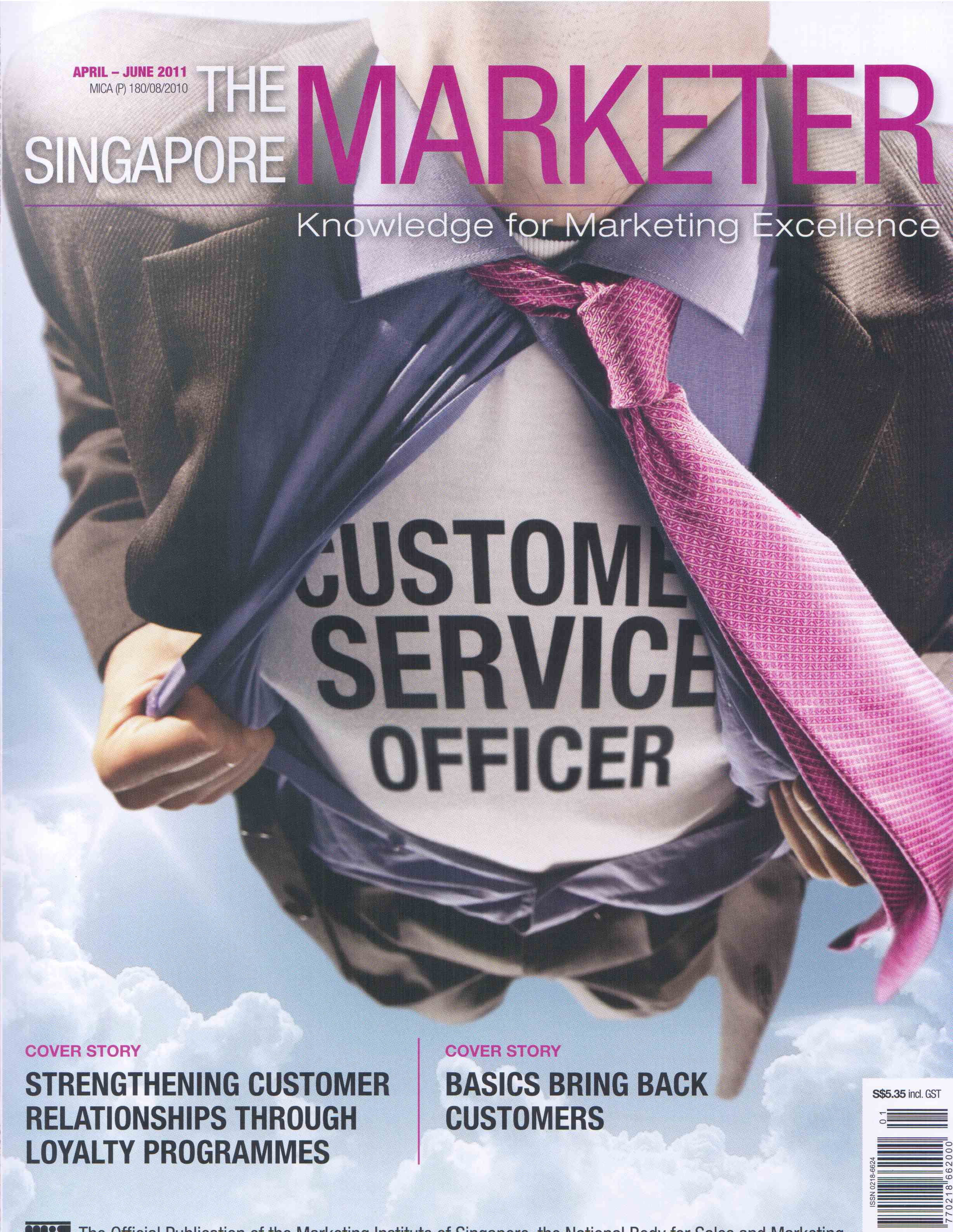 The Singapore Marketer (April~June)