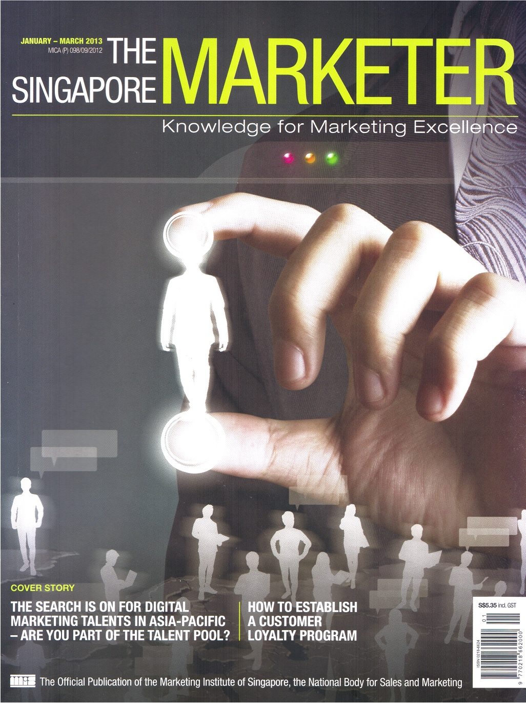The Singapore Marketer (January~March)