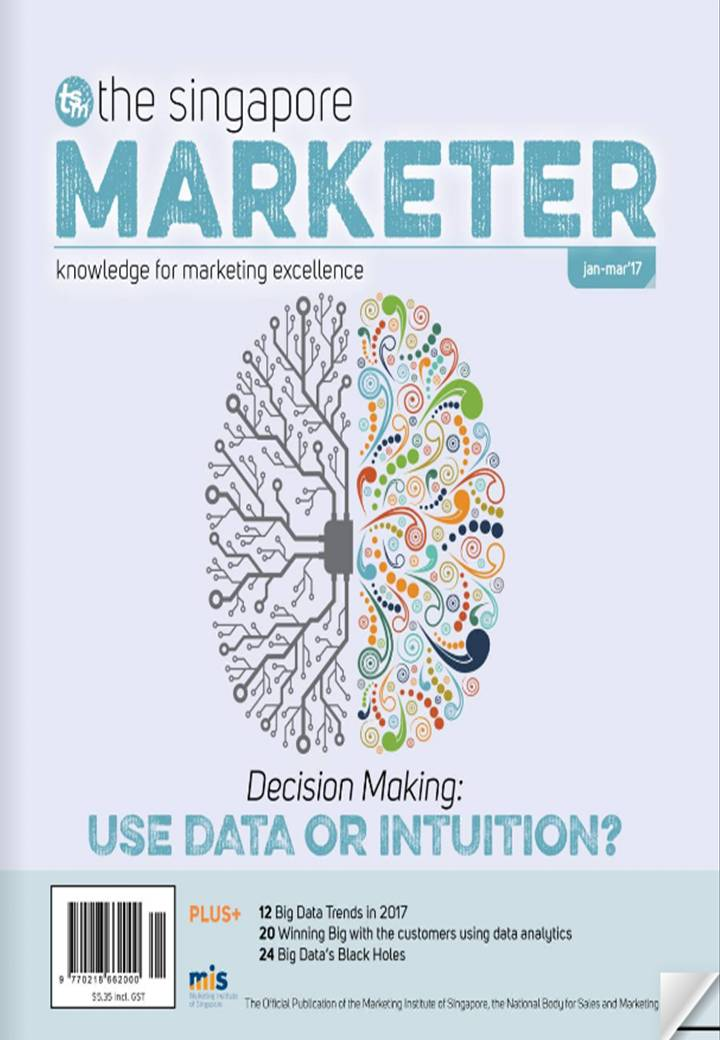 The Singapore Marketer    (January ~ March)